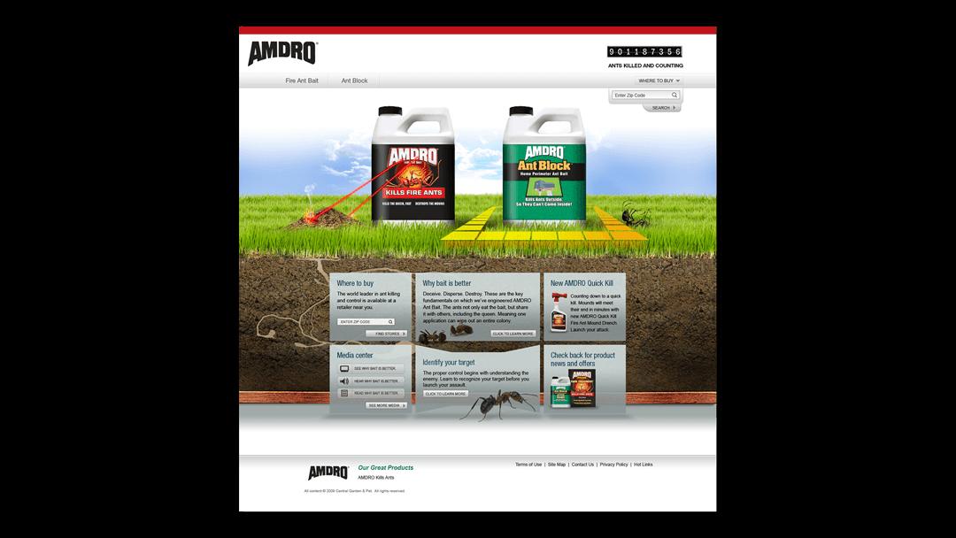 AMdro-Homepage