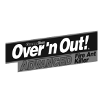 Over 'n Out! Fire Ant Killer | Client and Brand Served