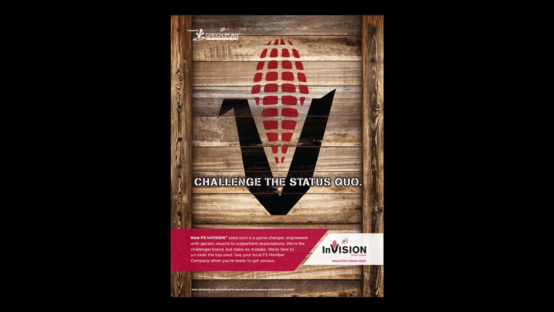FS InVISION Print Campaign Example