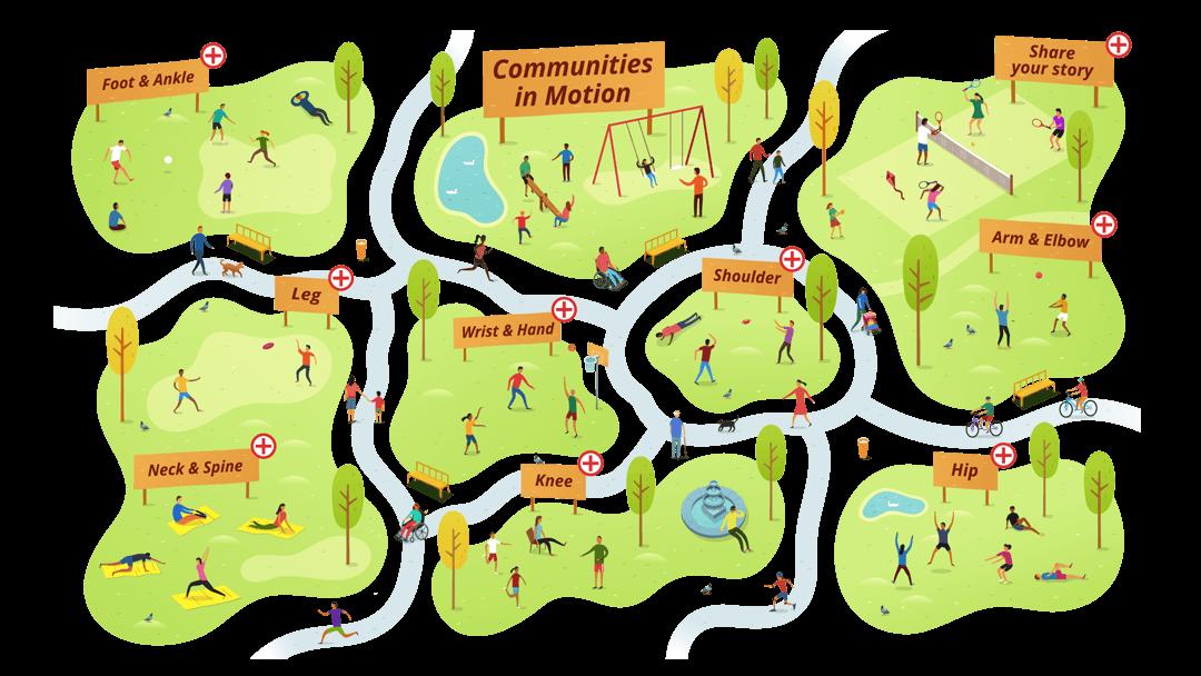 AAOS Virtual Park Map