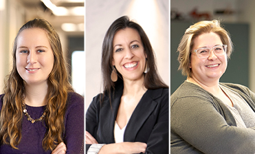 Three new hires at Rhea + Kaiser