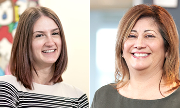 Debbie Cozzi - Media Buyer and Sarah Sikorski - Digital Media Planner/Buyer