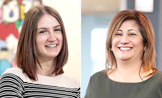 Debbie Cozzi - Media Buyer and Sarah Sikorski - Digital Media Planner/Buyer