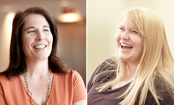 R+K promotes Patty Blystone and Michelle Nickrent